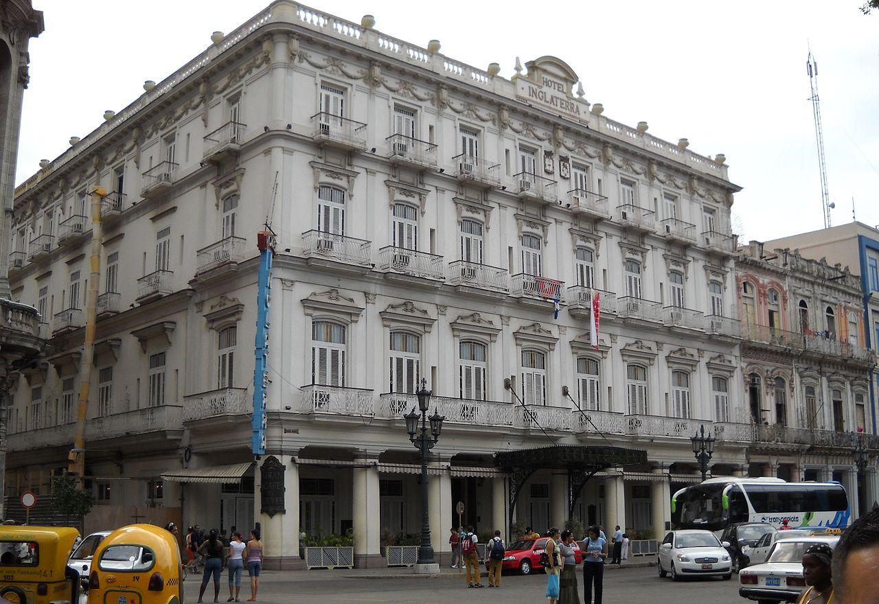 Hotel Inglaterra de La Habana (donde se alojó Antonio Maceo)