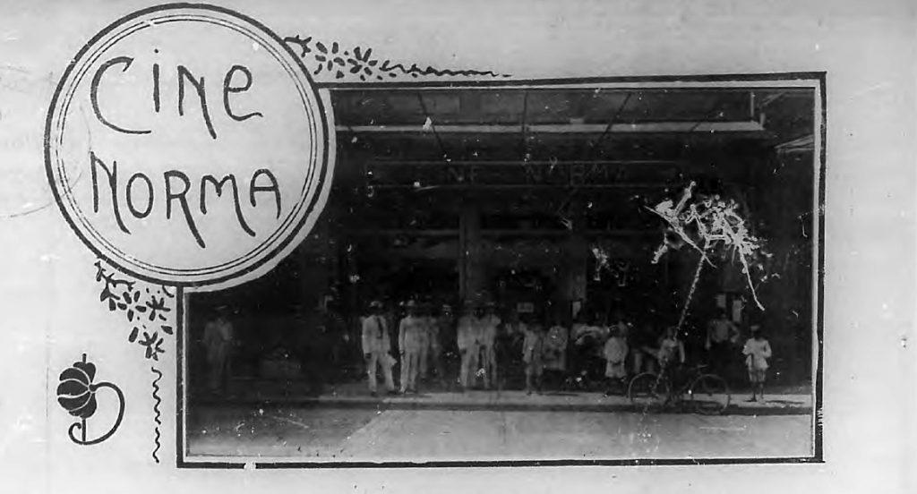 Cine Norma Entrada Luyano 1910