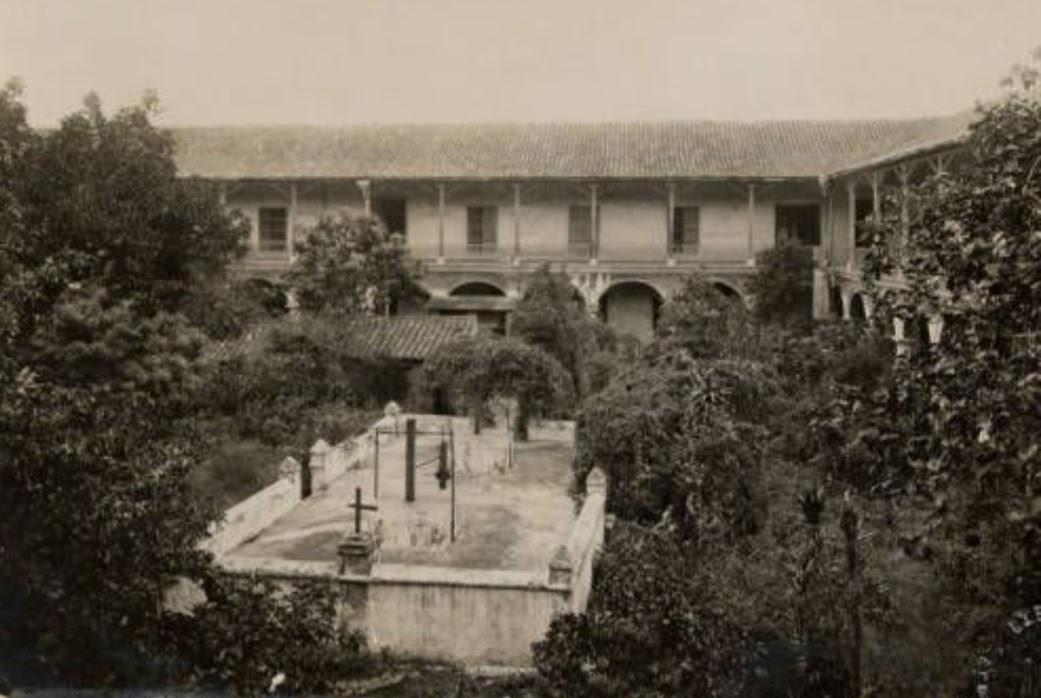 Convento Santa Clara infancia Condesa Merlin