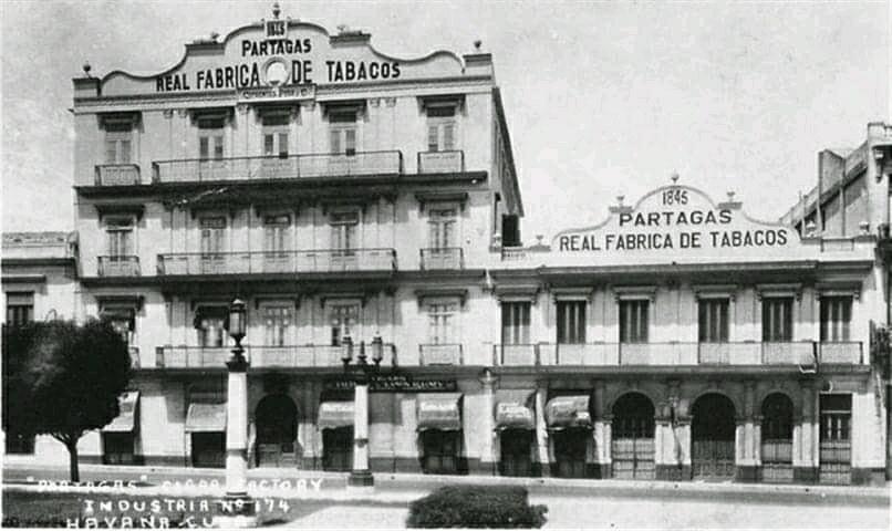 Fábrica de Tabacos Partagás. La Habana.