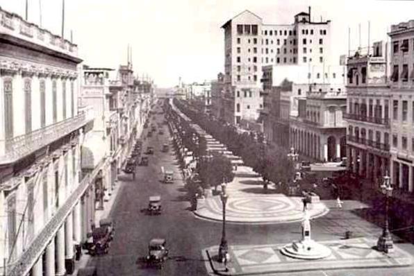 Paseo del Prado Habana 1