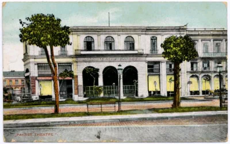 Cine - teatro Payret en el siglo XIX
