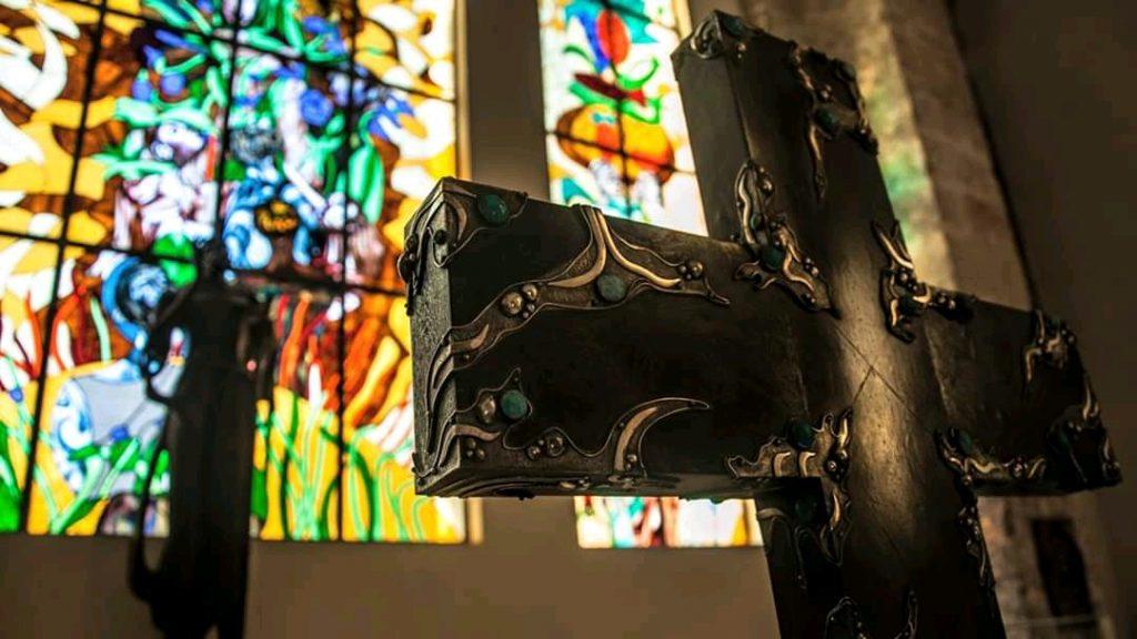 Vitrales iglesia de paula