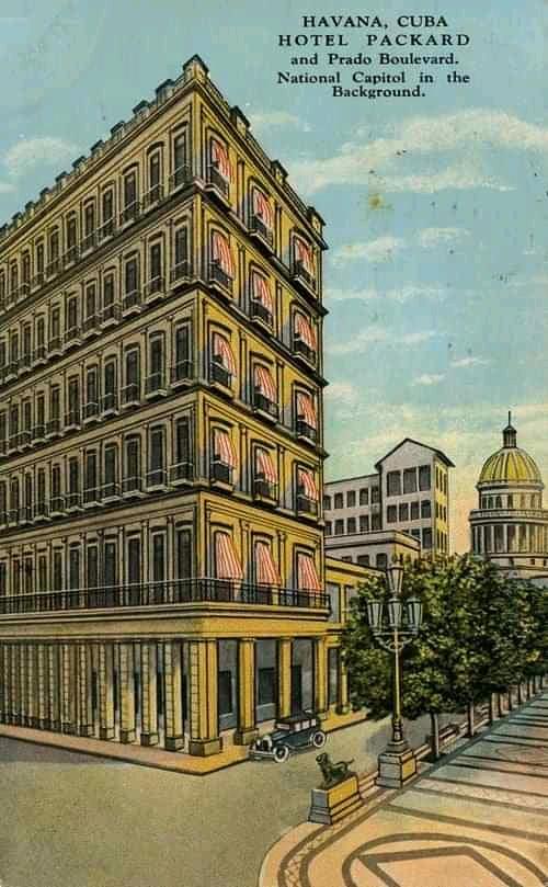 hotel Packard publicidad
