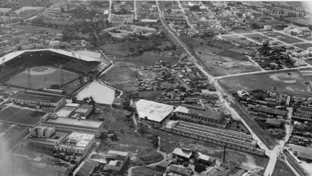 Vista aérea del Stadium del Cerro