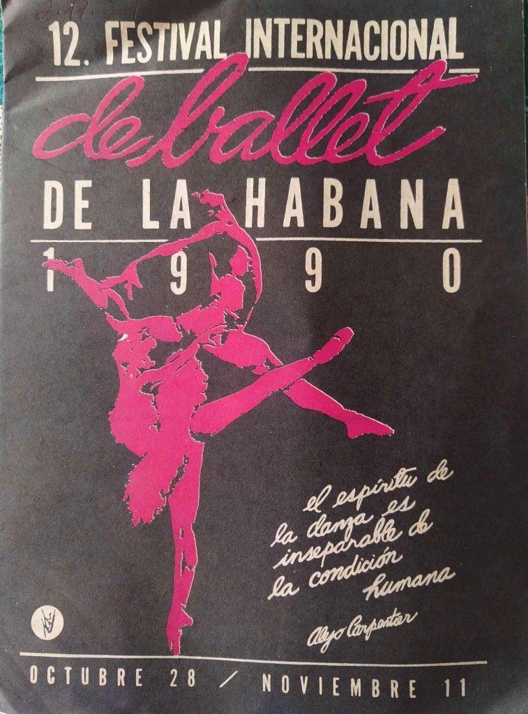 Programa del 12 Festival de Ballet de La Habana