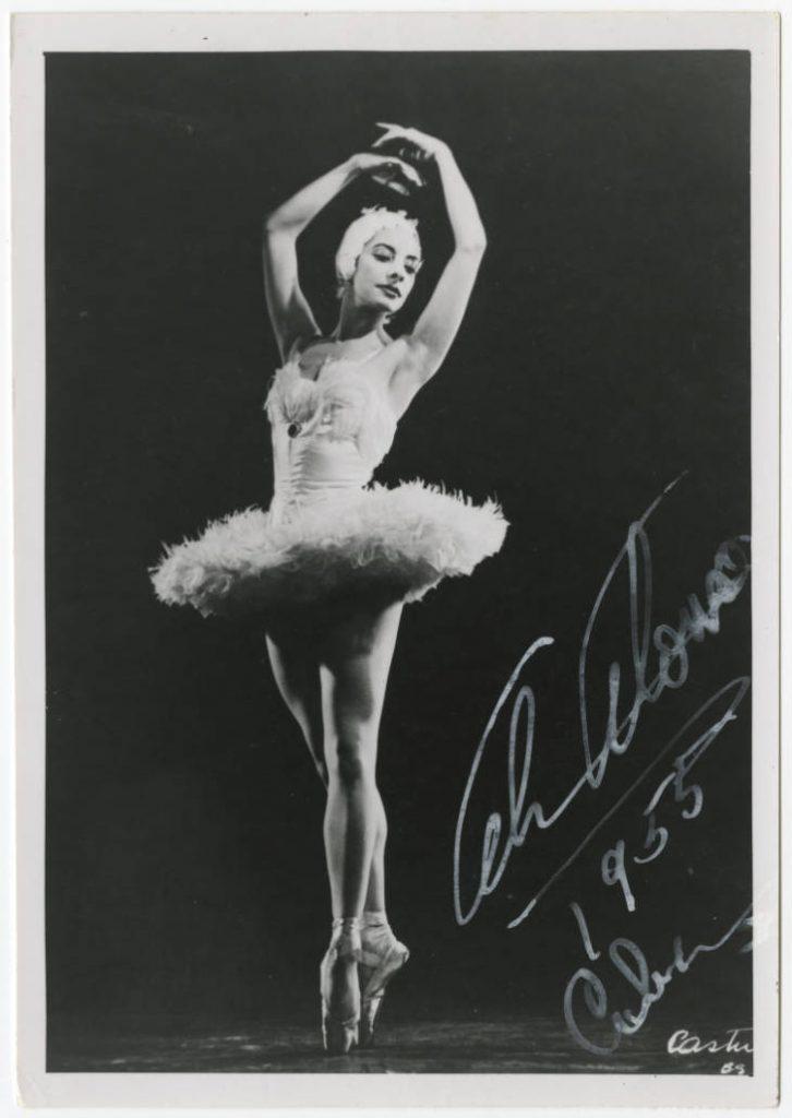 Alicia Alonso.1955