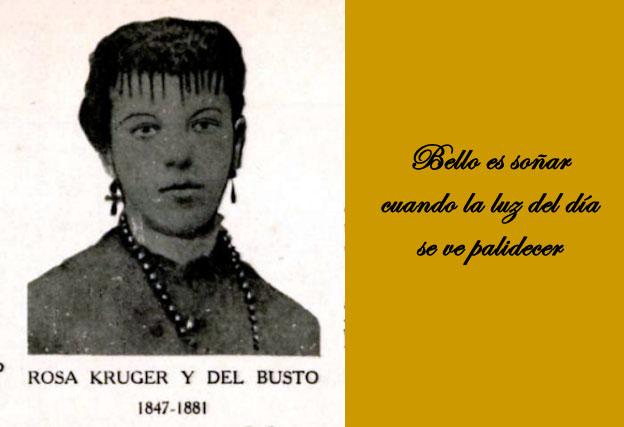 Rosa Kruger. Poetisas desconocidas