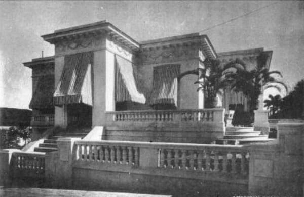 Antigua casa de Julio Blanco Herrera en Prado 209