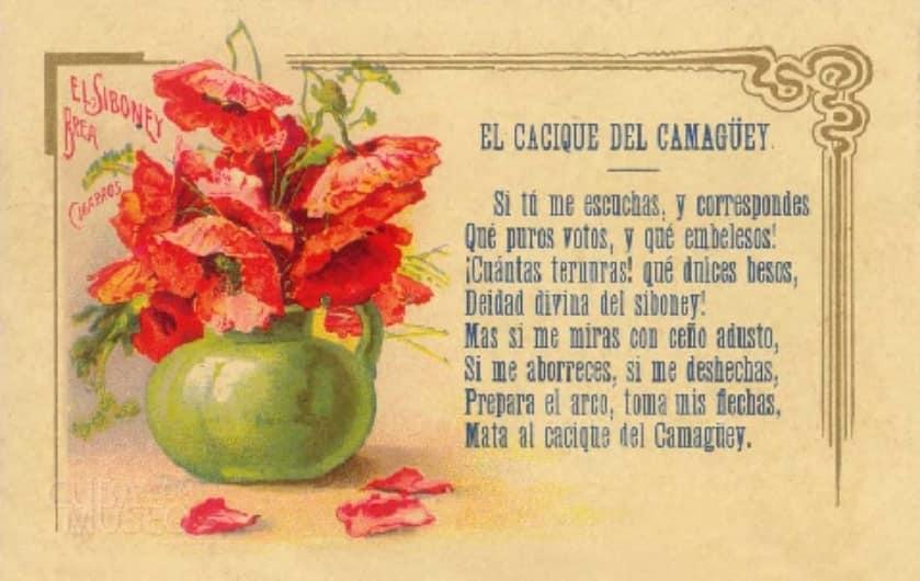 Cigarrillos El Siboney Publicidad