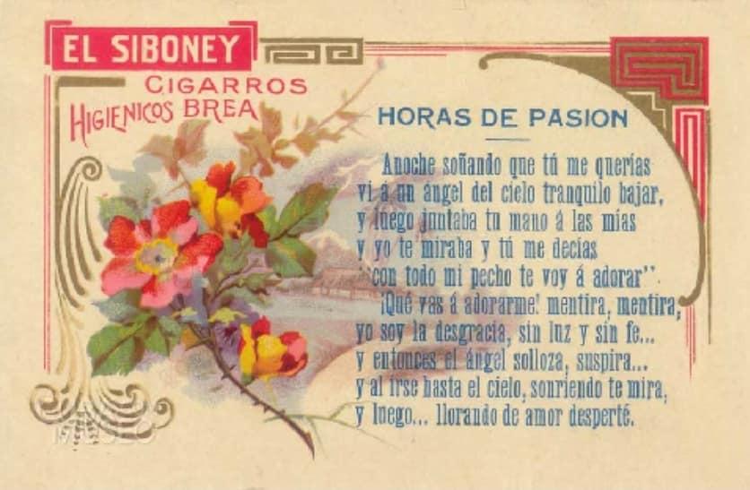 Cigarrillos El Siboney Publicidad 01