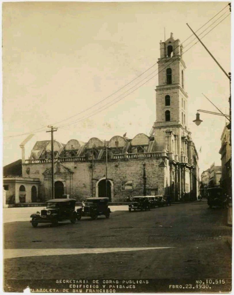 Convento de San Francisco de Asís en 1930