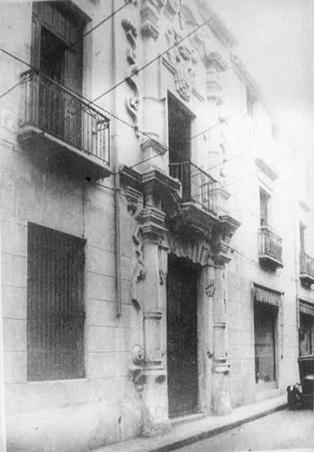 Casa de la Obrapía 1920