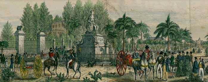 Fuente de la India en 1853