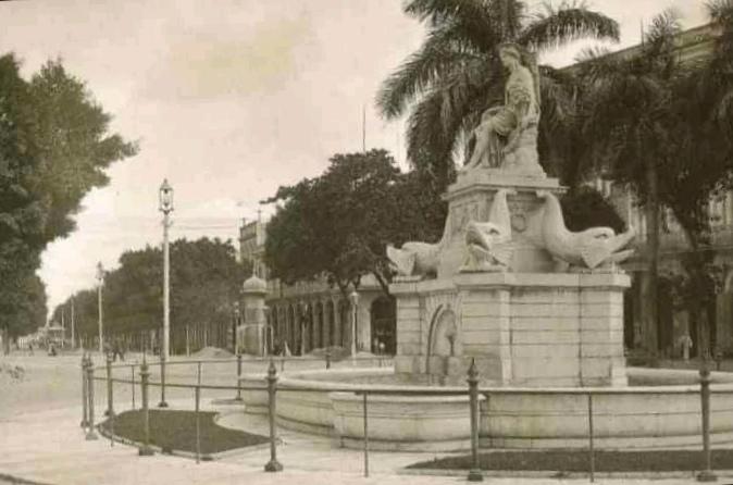 Fuente de la India en la última década del siglo XIX