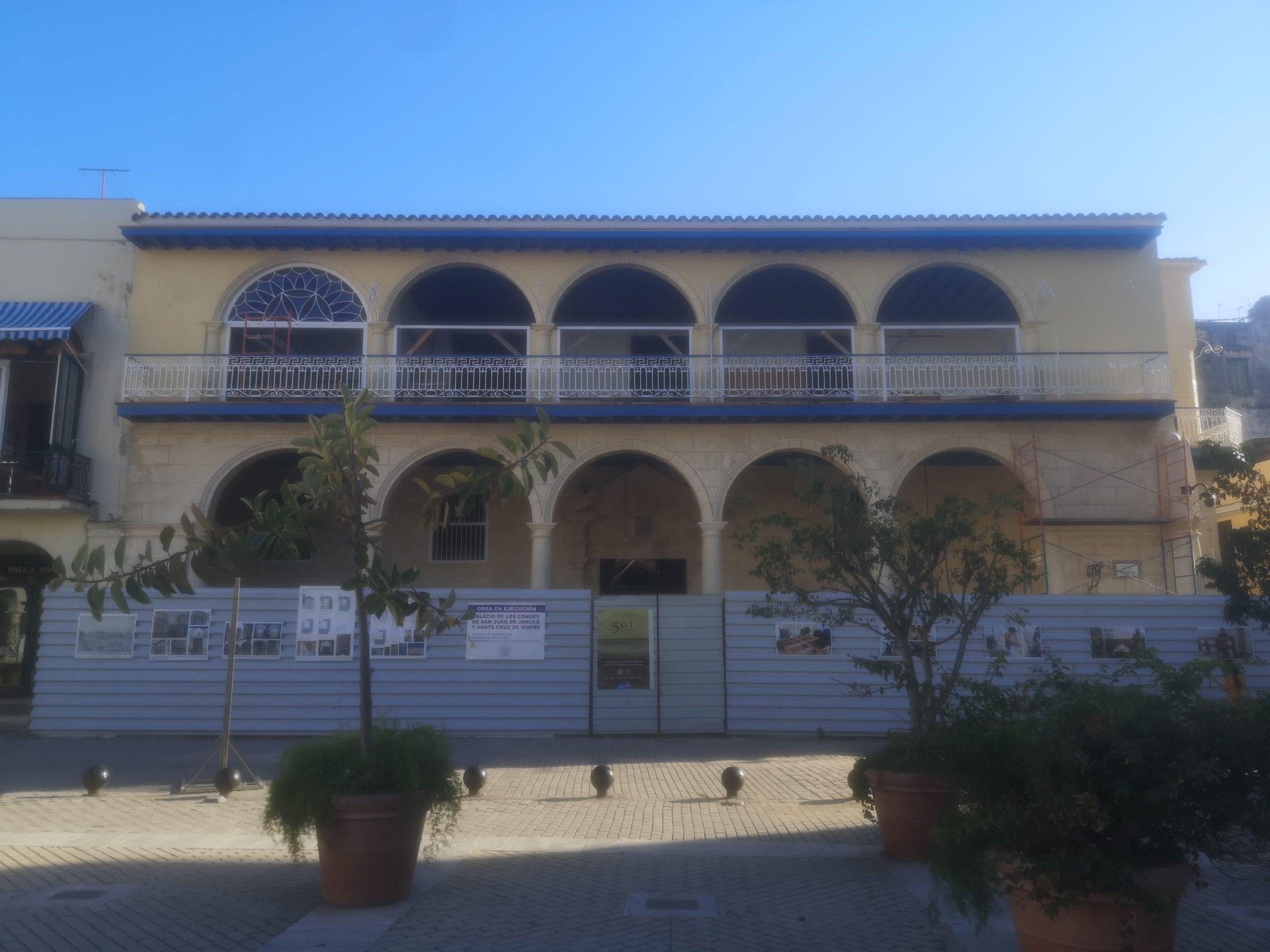 Casa marqués de Jaruco. 2020