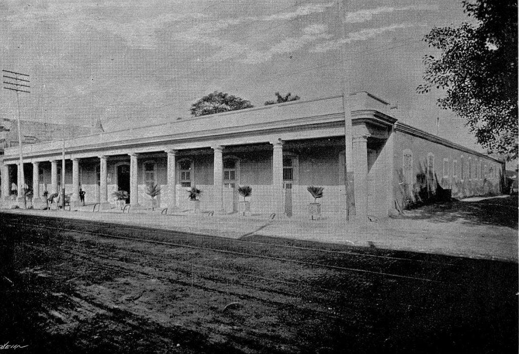 Quinta de Higiene de La Habana en el año 1901