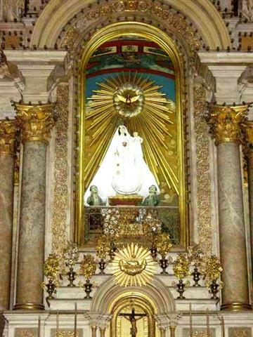 Iglesia de la Merced detalle altar