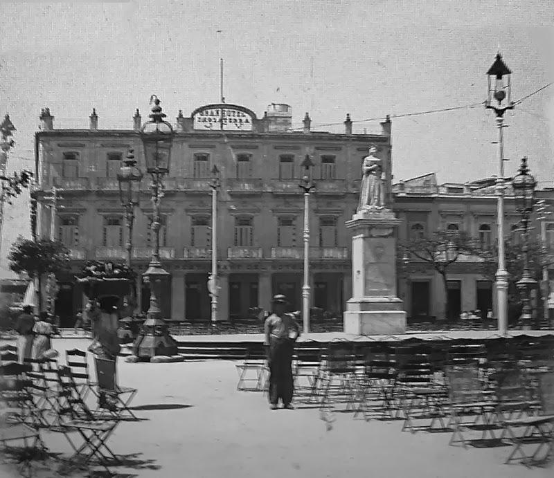 Inauguración de la Estatua de Isabel II