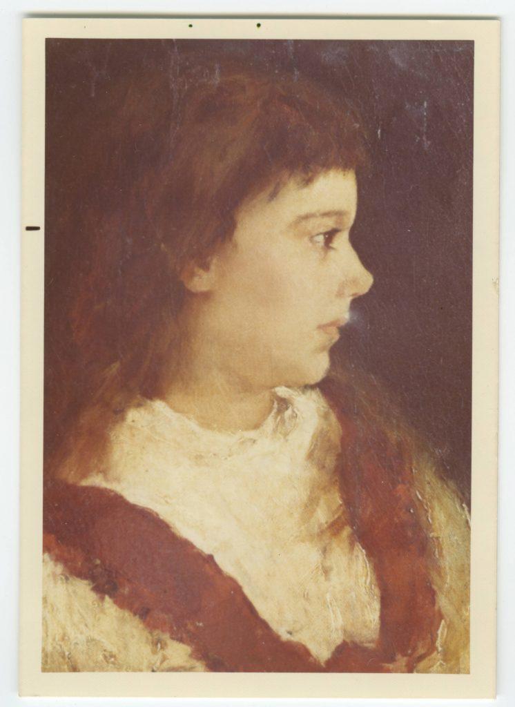 Juana Borrero. dibujo a los 16 anos