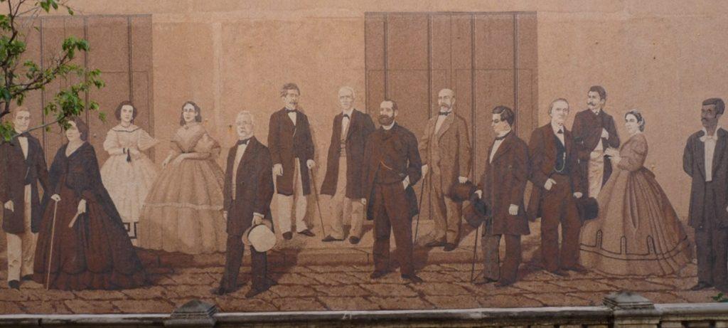 Marqués de Arcos, mural