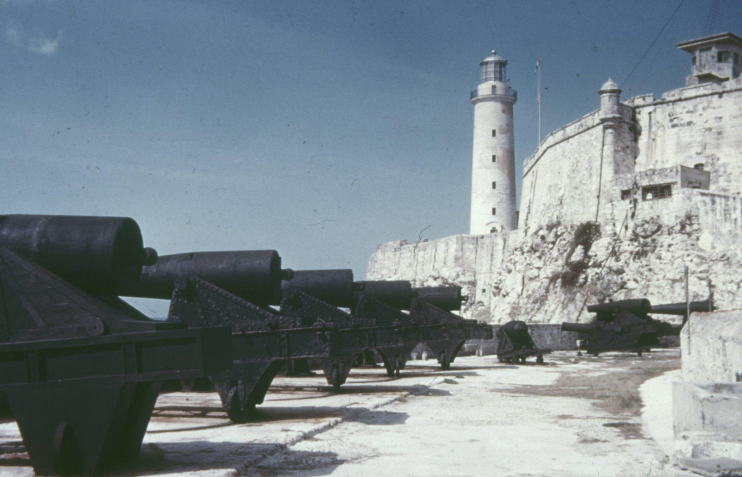 Castillo del Morro, cañones