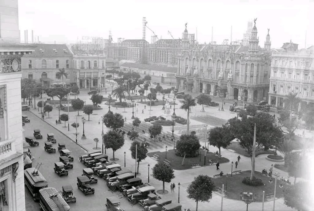 El Parque Central en 1928