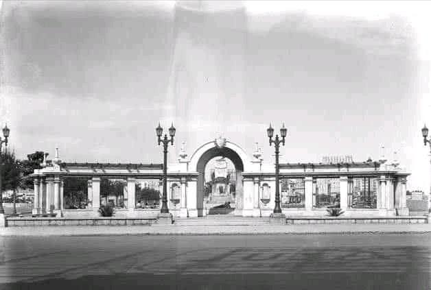 Parque Maceo en 1938
