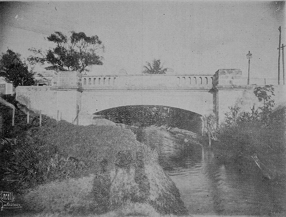 Puente de Vallarin sobre la Calzada de Infanta