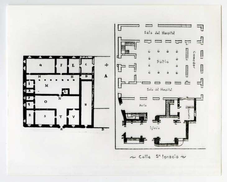 San Francisco de Paula. Plano 1737