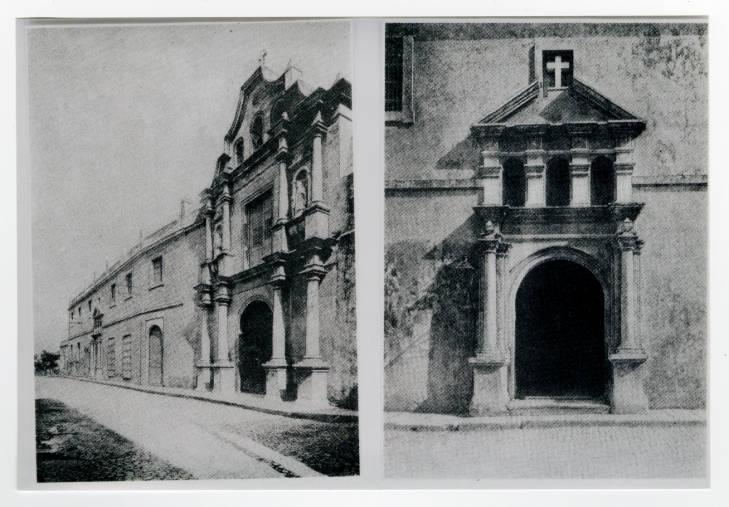 San francisco de Paula. Fachada