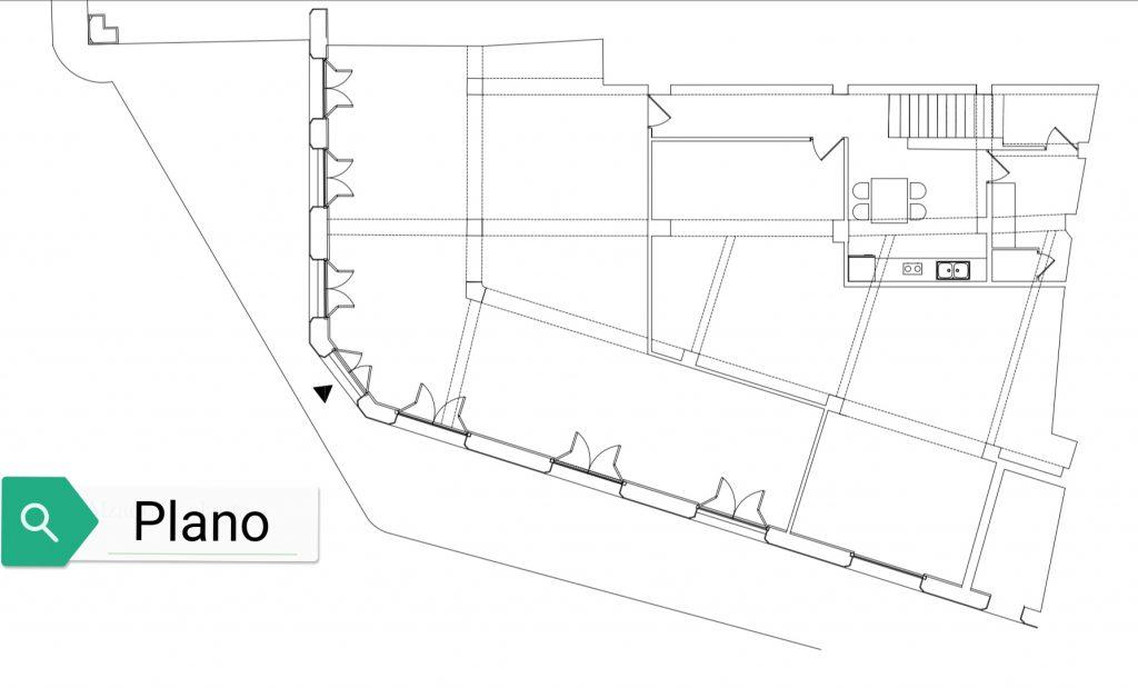 Plano de Casa Obra Pía de Aramburo 1