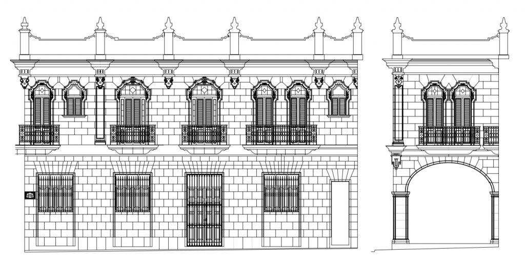 Plano de Casa de Obra Pía de Aramburo