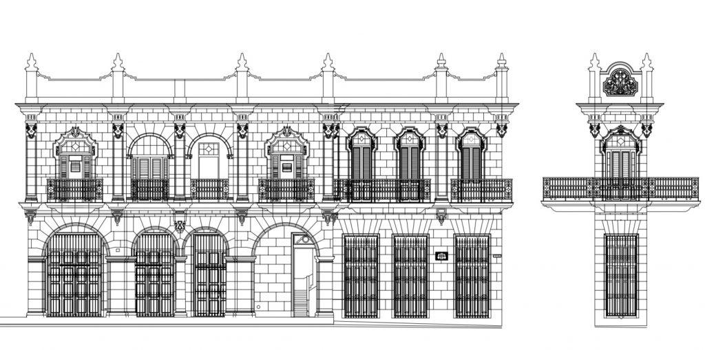 Plano de Casa Obra Pía de Aramburo 2