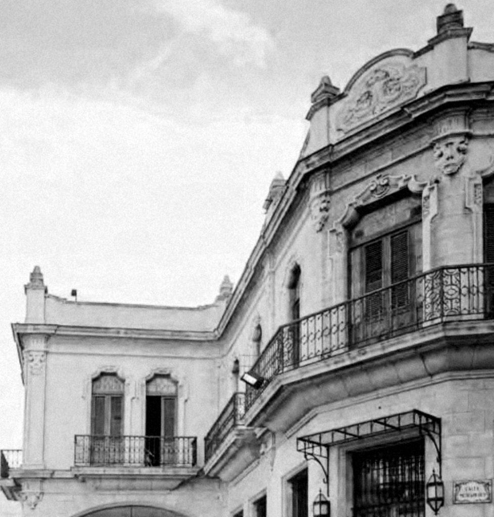 Detalle superior Casa Obra Pía de Aramburo