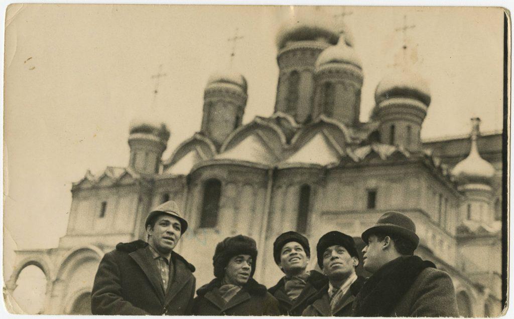 Los Zafiros, grupo cubano, en Moscú
