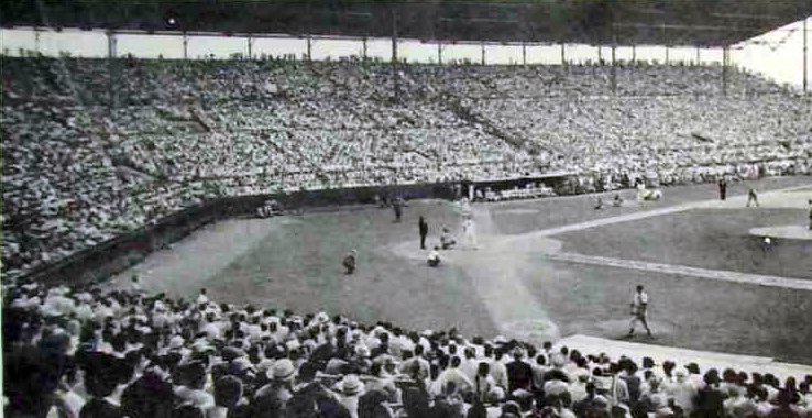 Detalle del home del Stadium del Cerro (estadio Latinoamericano)
