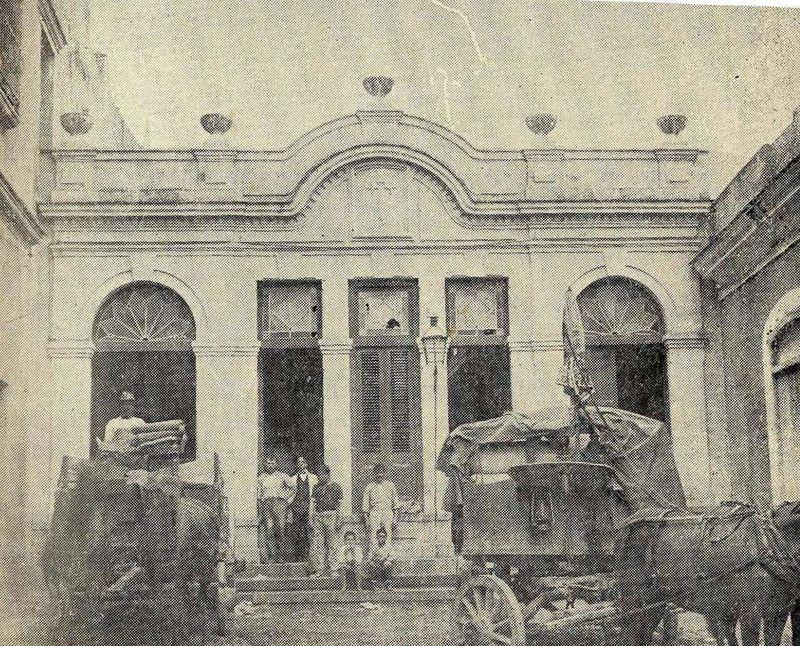 callejon del Chorro moderna casa habanera