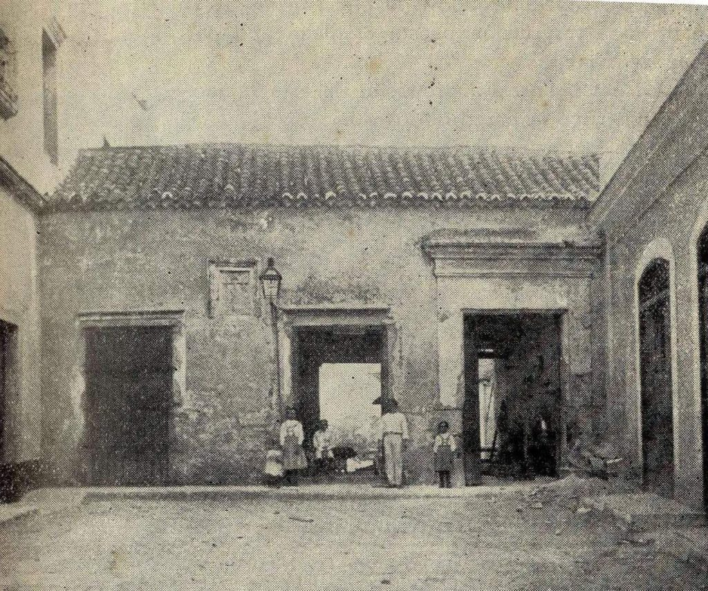 callejon del Chorro Antigua casa habanera