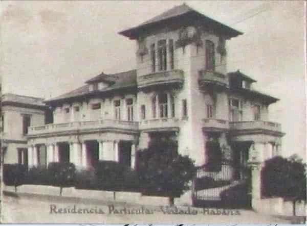 La antigua casa de Ramón García - Mon en el Vedado