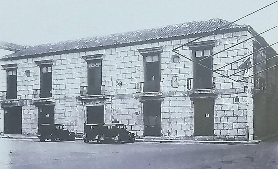 Antigua Casa de Don Luis Chacón en 1931