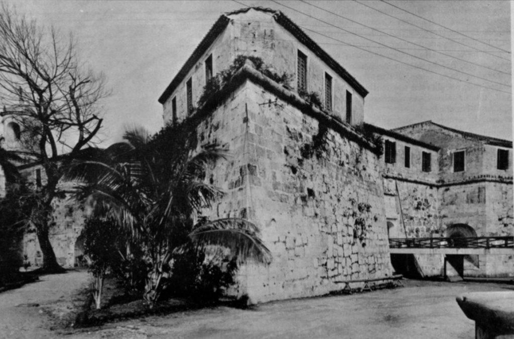 Castillo de la Real Fuerza en 1925