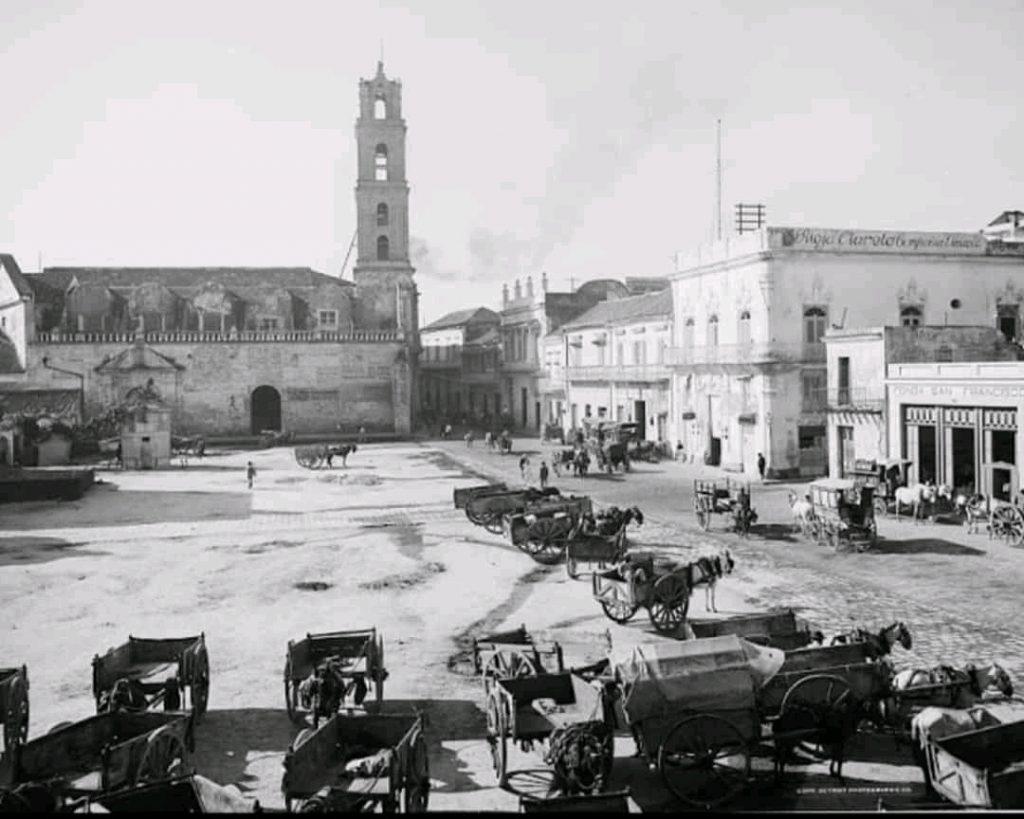Convento de San Francisco de Asís a finales del siglo XIX