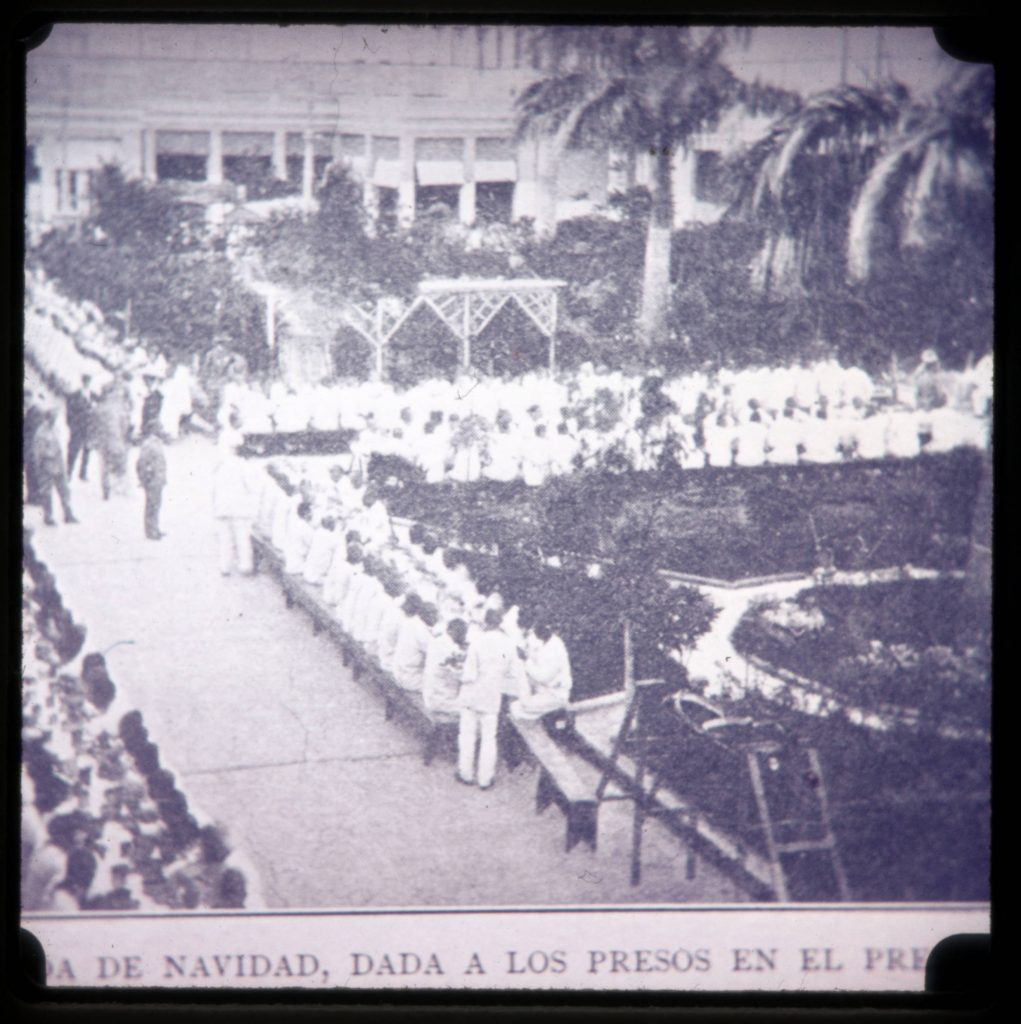 Navidad habanera en el presidio 1920