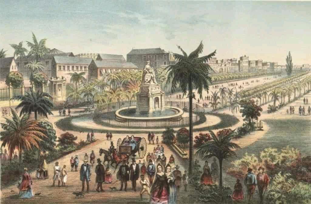 fuente de la India en 1839 Habana