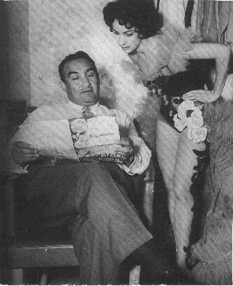 Pedro Vargas y Sonia Calero
