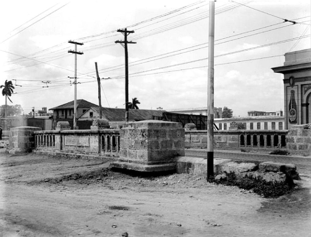 Puente de Villarín en 1942