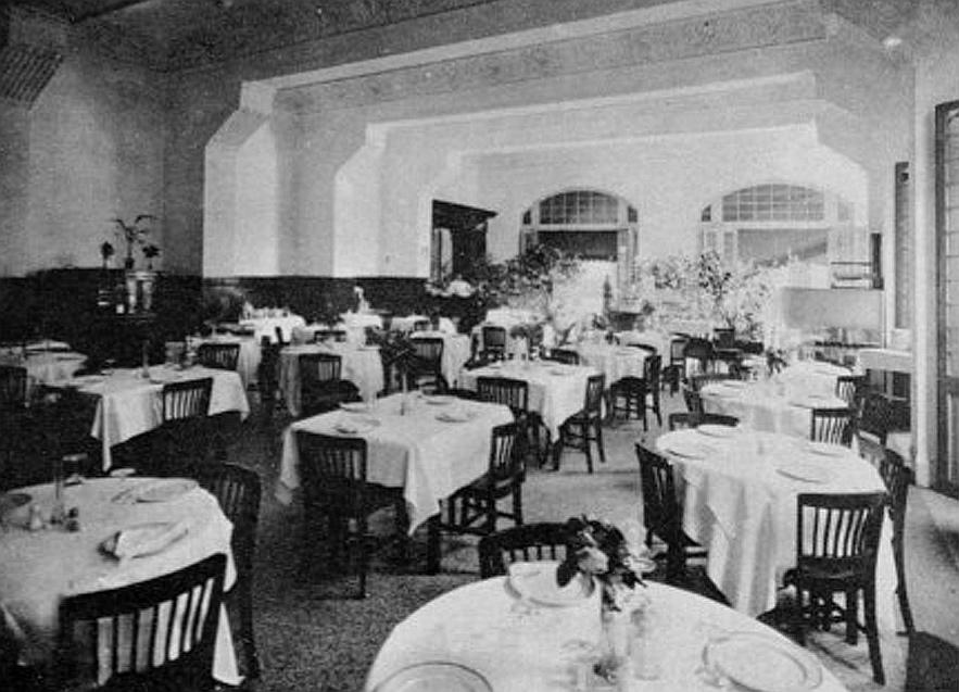 restaurante hotel Ritz la habana