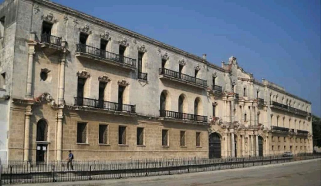 Seminario de San Carlos y San Ambrosio donde ejerciera el Padre Caballero