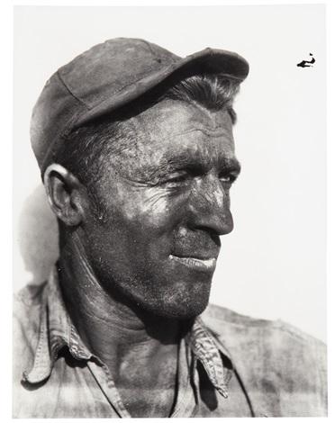Walker Evans. Trabajador del puerto. 1933